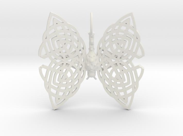 Circle of Life Knot Pendant 3d printed