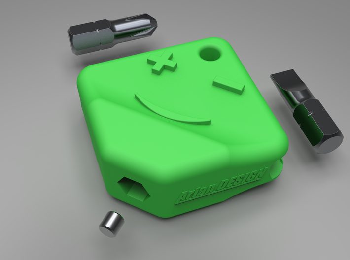 BITSY - Compact and handy Screw driver set.  3d printed