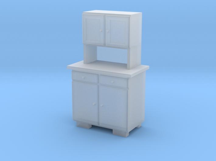 TT Cupboard 2 Doors A - 1:120 3d printed