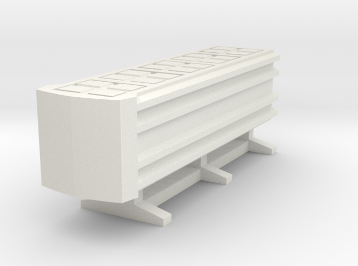 Guard Rail End Barrier 3d printed