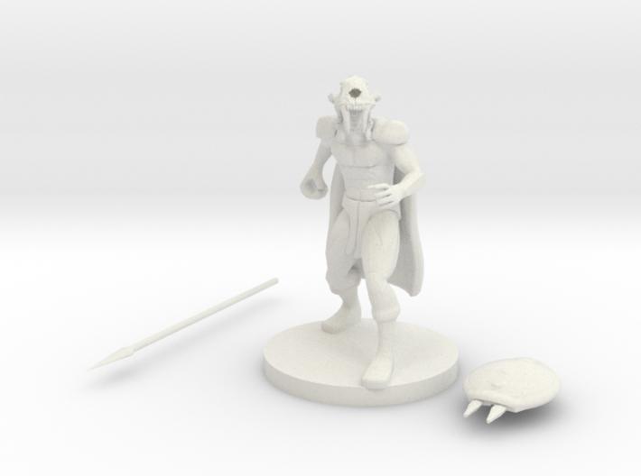 Tribal Warrior 3d printed