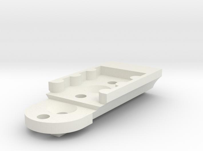 KMD-FR01 T-Plate Holder Long 3d printed