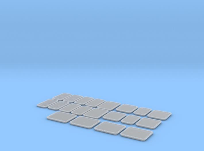 DDG-51 Aft Stackhouse Vent Kit 3d printed