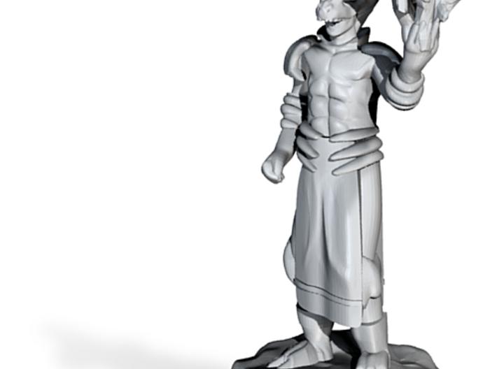 Lightning Wizard with Dragon Helmet 3d printed