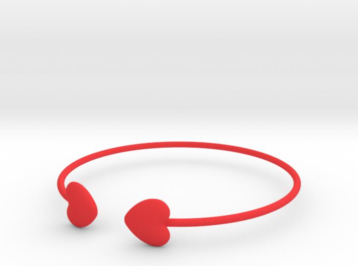Everything heart bracelet 3d printed