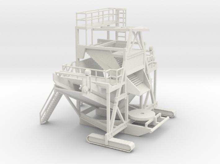 1/64 Sugar Beet Piler Main 3d printed