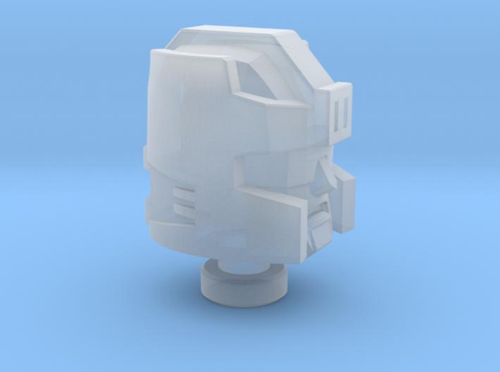 Rafferty soldier's Head Botcon Version 3d printed
