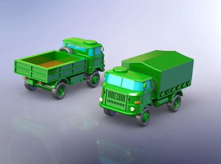 GDR IFA W-50 3to 4WD Truck 1/285 3d printed