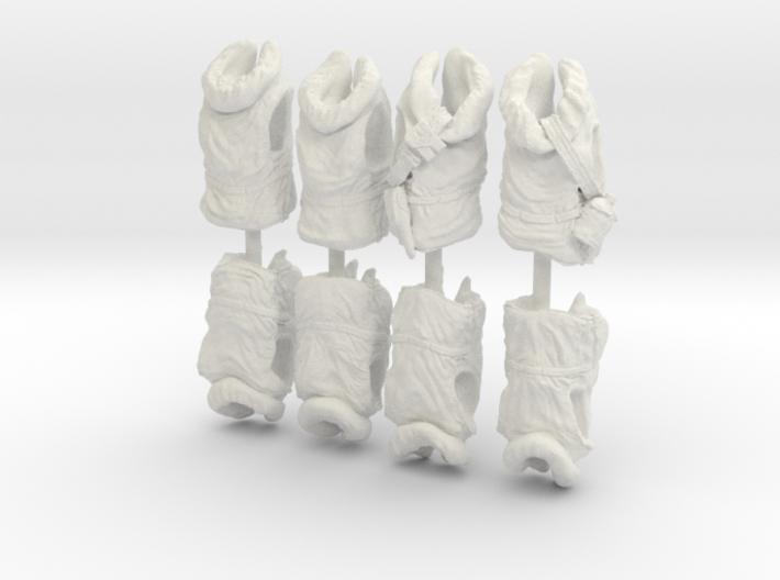 1/16 USN Hanged Kapok Lifevest Set1 3d printed