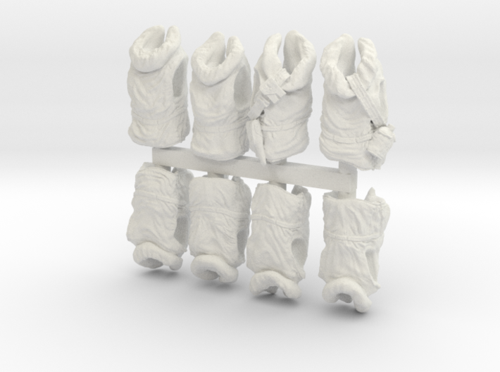 1-35 USN Hanged Kapok Lifevest Set1 3d printed