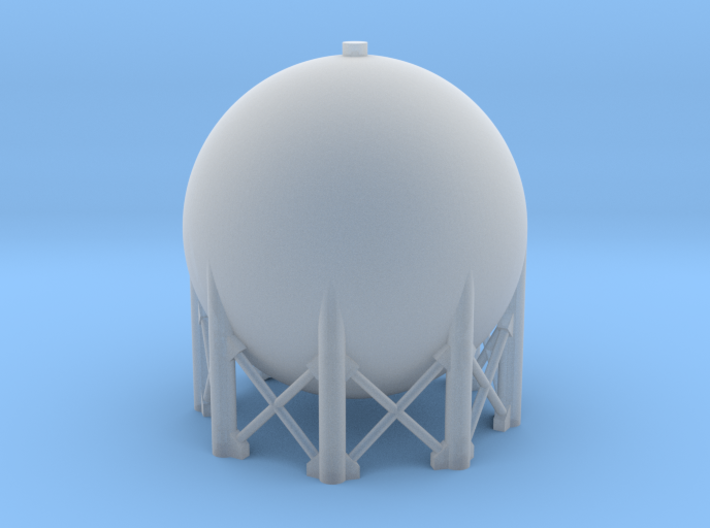 1:285 Spherical Tank 3d printed