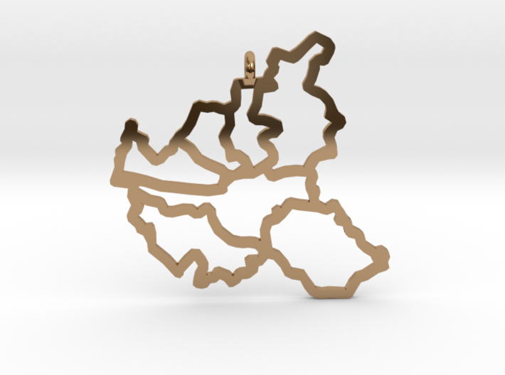 Hamburg Pendant 3d printed