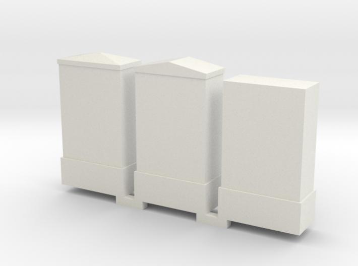 Schakel Kasten 0 H0 3d printed
