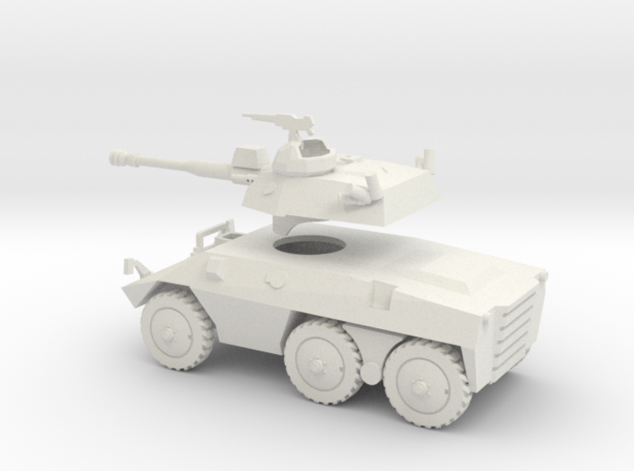 036D EE-9 Cascavel 1/100 with separate turret 3d printed