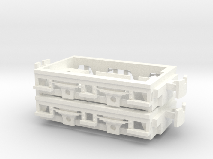 Gnomy E-Lok, 2x frame 3d printed