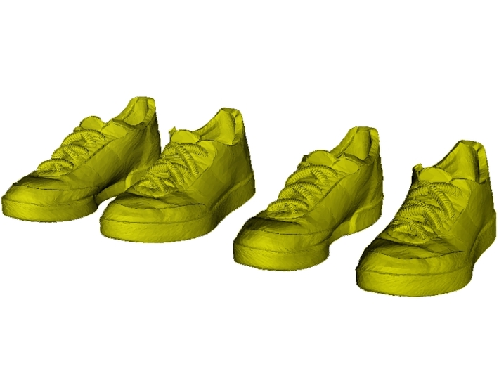 1/35 scale sneaker shoe pairs x 2 3d printed
