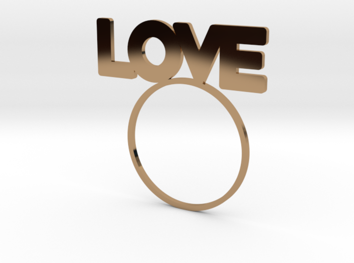 LOVE [LetteRing® Serie] 3d printed