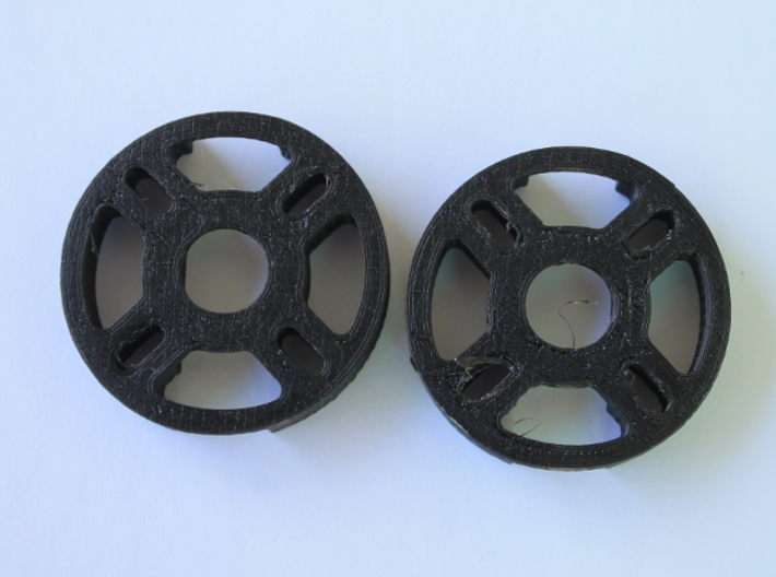 Multirotor 22 Sized Motor Mount 3d printed *This is not a Shapeways print, it's a print from my home machine