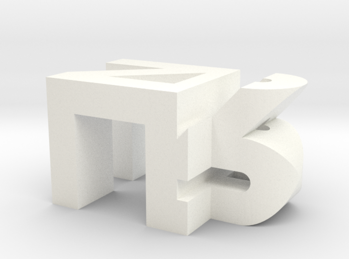 Personalized Initials 3d printed