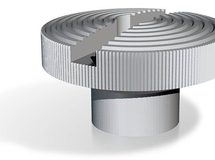 Weaver knob 3d printed