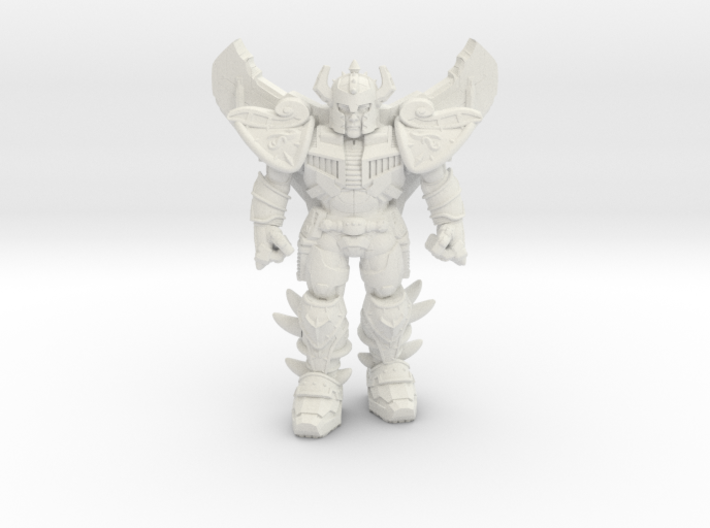 Jetstrike, at attention, 35mm Mini 3d printed