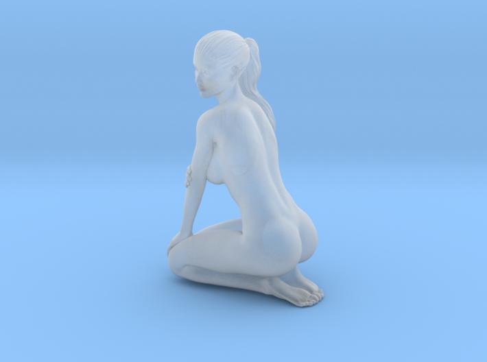 Long ponytail girl 054 1/35 3d printed