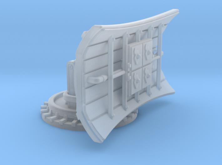 YT1300 FFG 1/270 QUAD DISH 3d printed