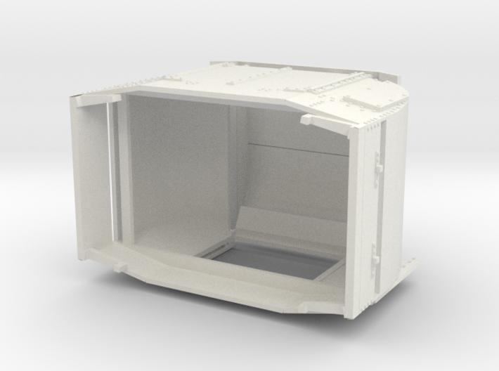 B-1-48-protected-simplex-one-door-open 3d printed