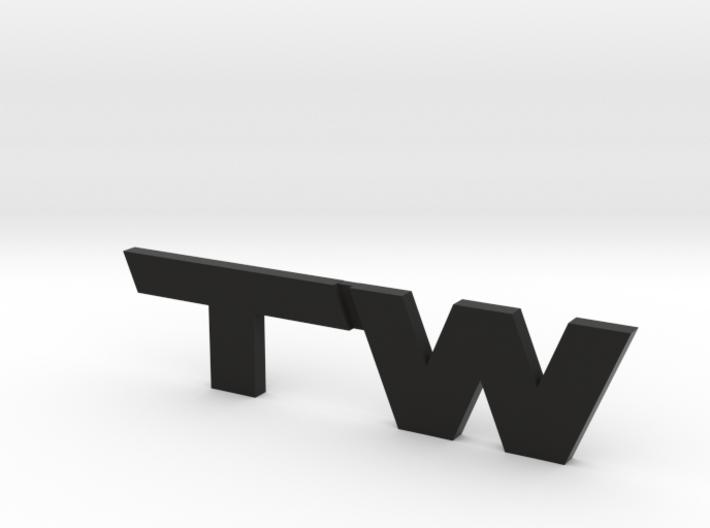 TacomaWorld Emblem 3d printed