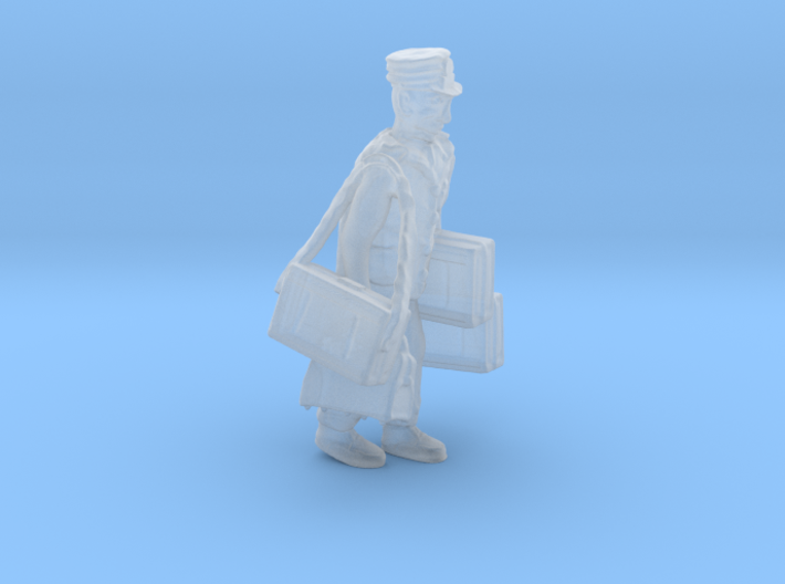 S Railroad PORTER w Luggage Figure 3d printed