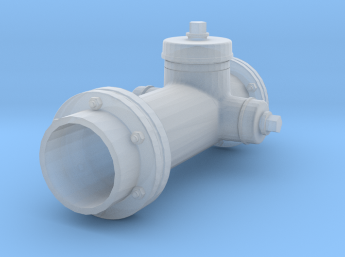 1/16 scale fire hydrant 3d printed