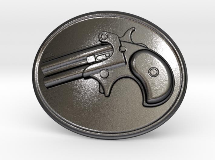 Derringer Belt Buckle New 3d printed
