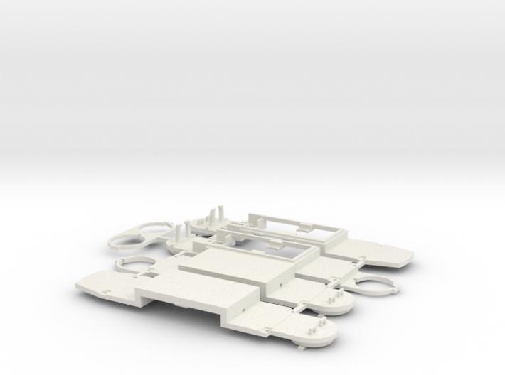 Fahrgestell GT8N 3d printed