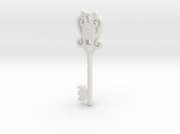 Key - Ornate 02B 3d printed