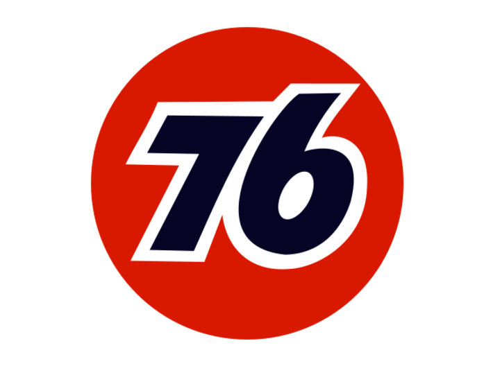 Gas Station Sign Post, 1/32 Scale 3d printed Union 76 Logo