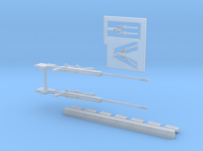 1/35 McMillian TAC-50 MSP35-040 3d printed