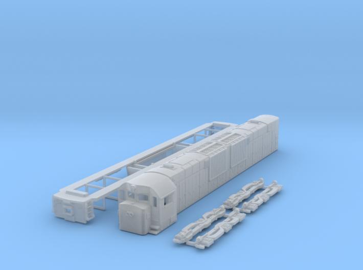 TT Scale ALCo C-643dh 3d printed