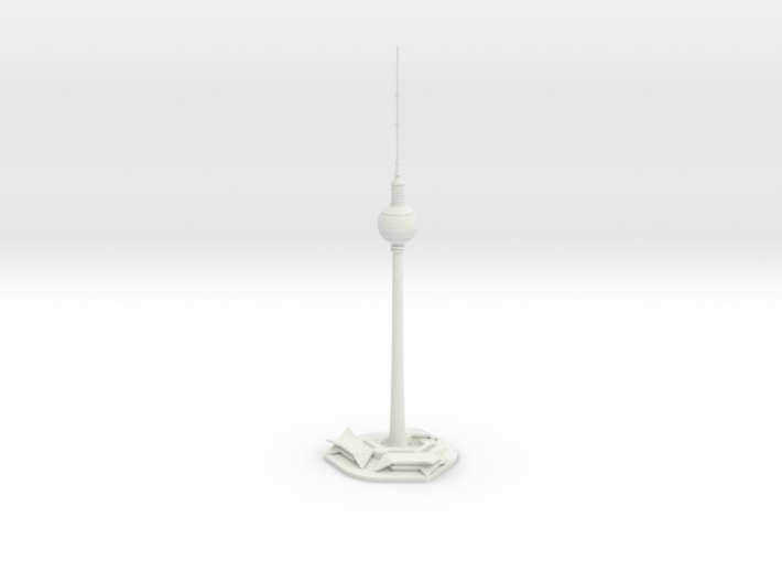 Berliner Fernsehturm (1:2000) 3d printed