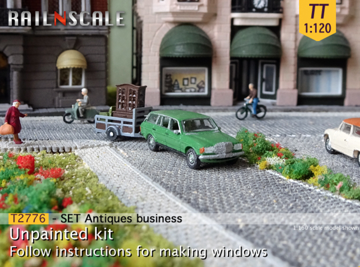 Antiques business (TT 1:120) 3d printed