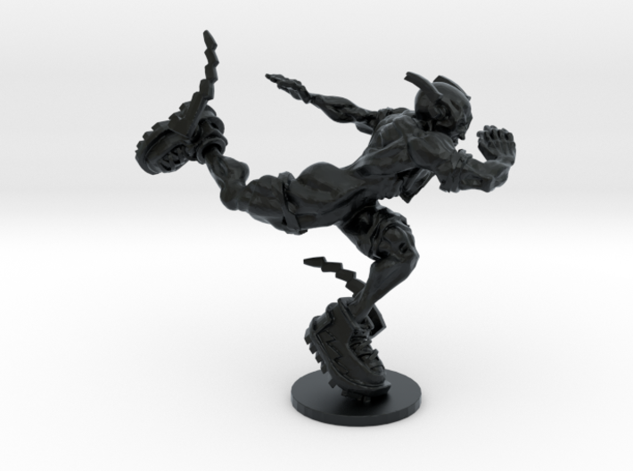 The Flash from the Dark Knight 3d printed