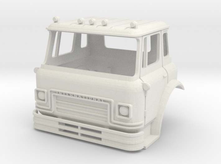 1/25 Scale Cargostar Cab 3d printed Lowest price material, rough finish
