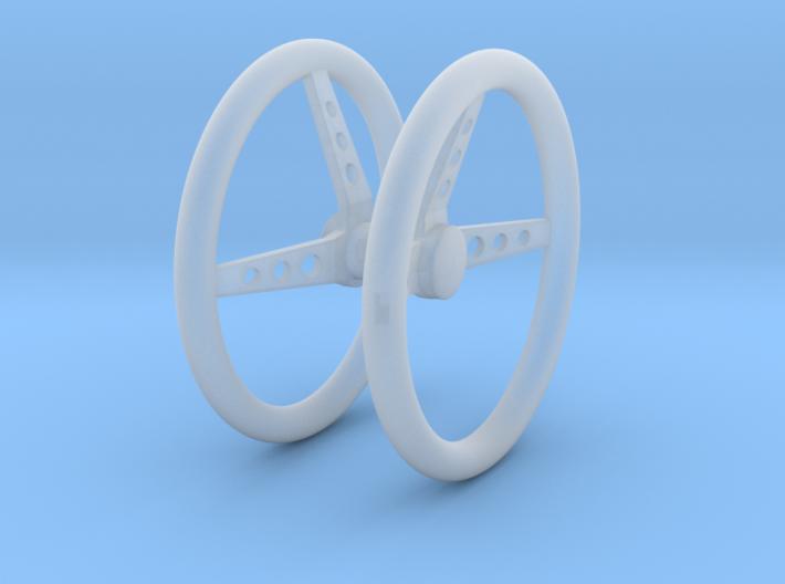 Steering Wheel V3 1/18 3d printed