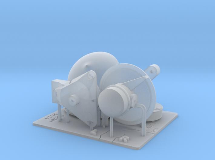 STIR (Separate Target Illumination Radar) Kit 1/96 3d printed