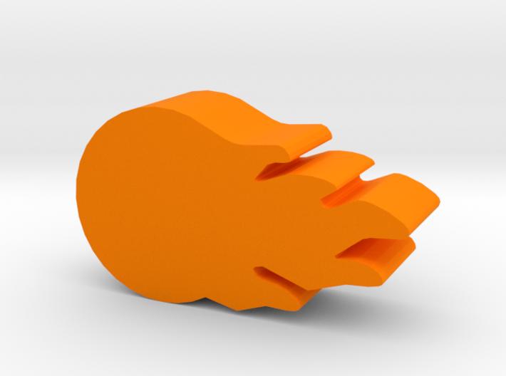 Game Piece, Fireball 3d printed