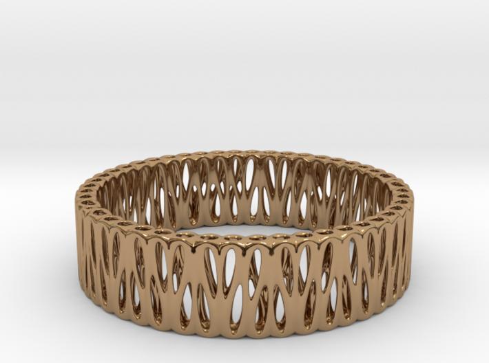 Bi-Organic Bracelet 65mm 3d printed Bi-Organic Bracelet 65mm
