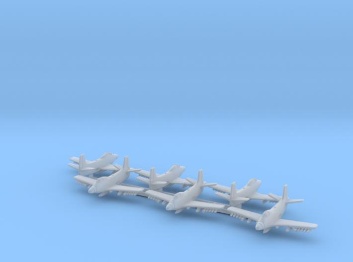 Douglas A2D Skyshark 1/600 3d printed