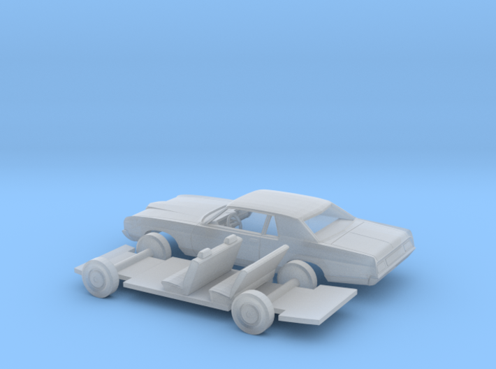 1/160 1971/72 Ford LTD Coupe Kit 3d printed
