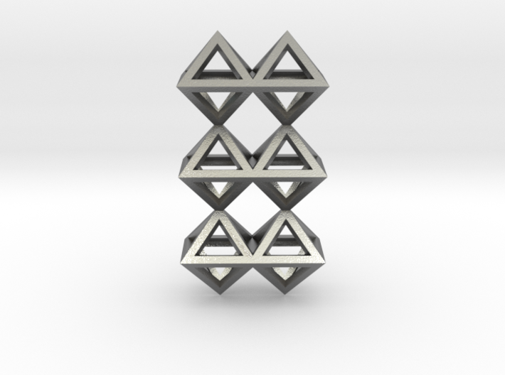 12 Pendant. Perfect Pyramid Structure. 3d printed