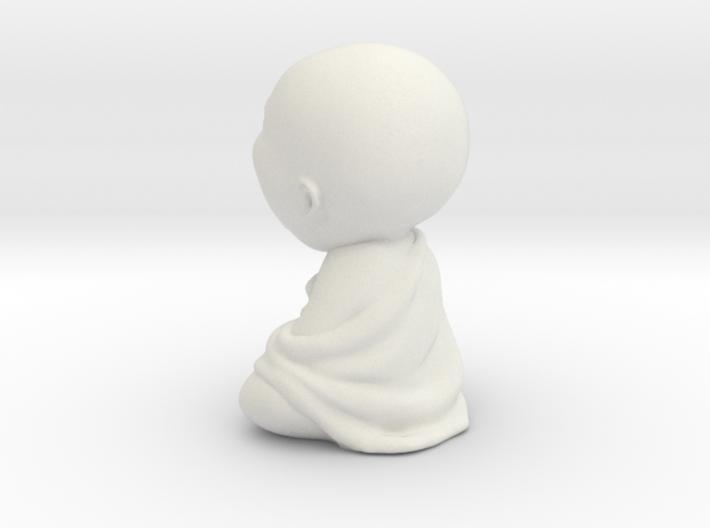 Sleeping laziness Buddha statue 3d printed