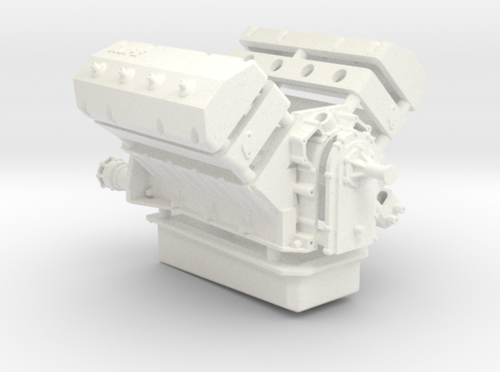 AJPE 1/12 Hemi Single Plug 3d printed